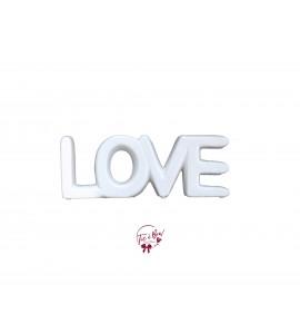 Word: Love (Porcelain)