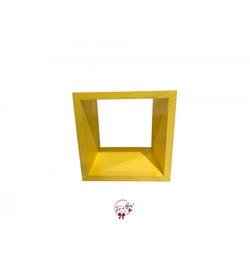 Yellow Square Riser