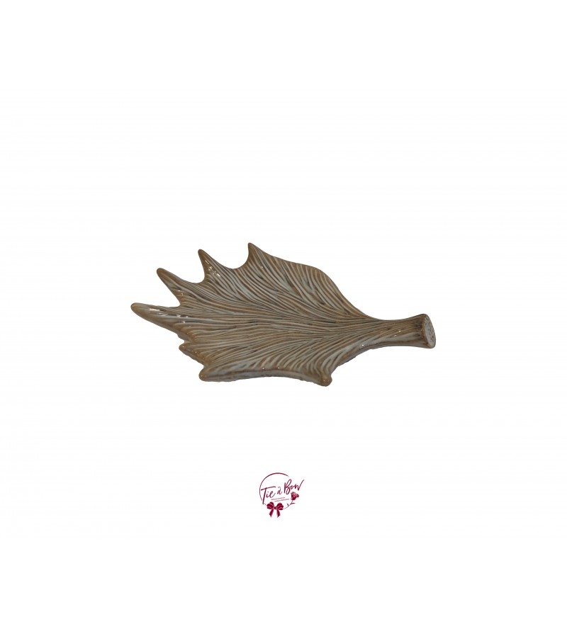 Beige: Petrified Leaf Tray